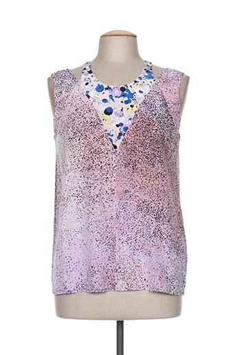kenzo chemises femme de couleur violet
