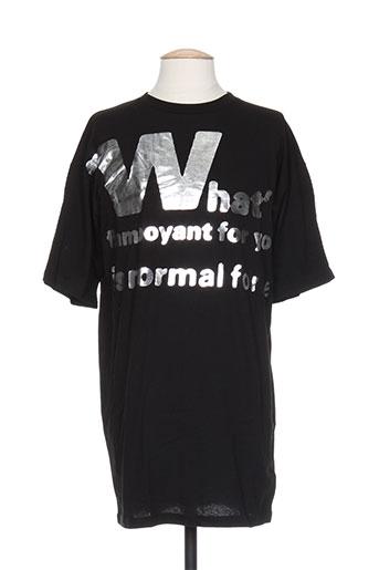 T-shirt manches courtes noir MAISON MARTIN MARGIELA pour homme