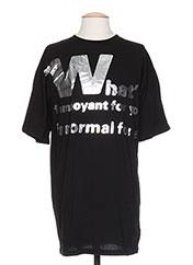 T-shirt manches courtes noir MAISON MARTIN MARGIELA pour homme seconde vue