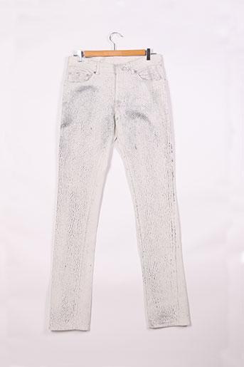 balenciaga pantalons femme de couleur gris