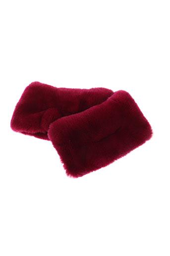 paul ka accessoires femme de couleur rose