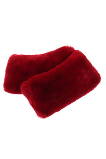 paul ka accessoires femme de couleur rouge