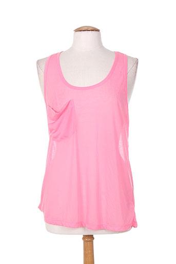 bobi t-shirts femme de couleur rose