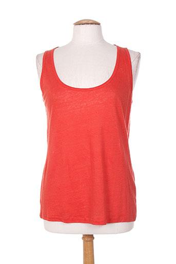 may&june t-shirts femme de couleur orange