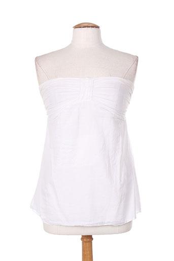 drolatic chemises femme de couleur blanc