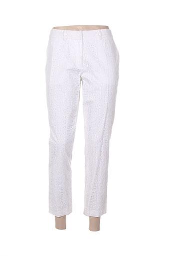paul EFFI_CHAR_1 joe pantalons femme de couleur blanc