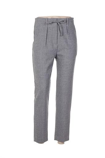 Pantalon 7/8 gris PAUL & JOE pour femme