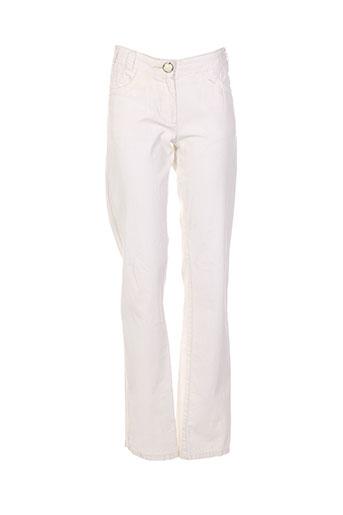 Pantalon casual beige BILLTORNADE pour fille
