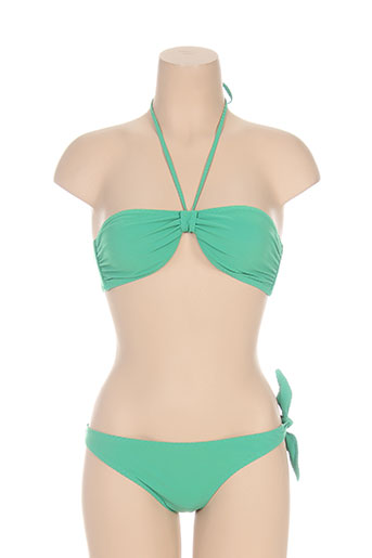 naelie maillots de bain femme de couleur vert