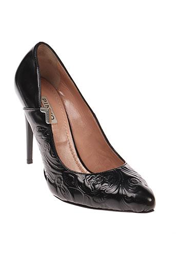 pinko chaussures femme de couleur noir