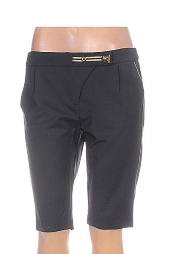 voodoo shorts / bermudas femme de couleur noir