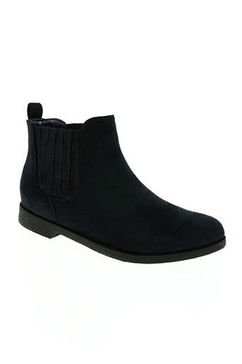 Bottines/Boots bleu HEMJI pour femme