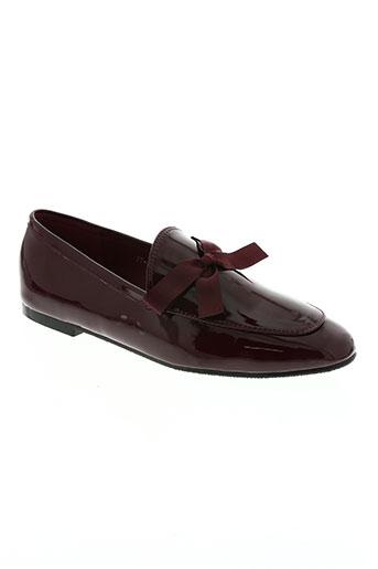 hemji chaussures femme de couleur rouge