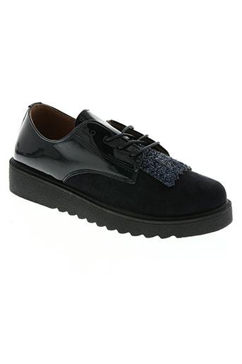 hemji chaussures femme de couleur bleu