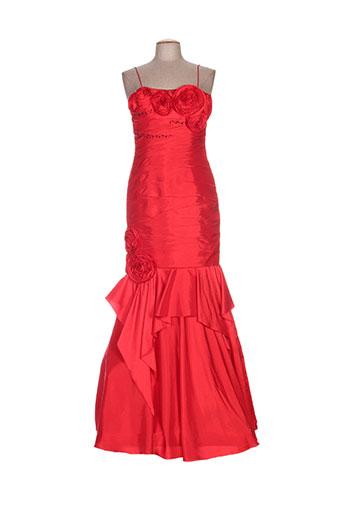 ellebeline robes femme de couleur rouge