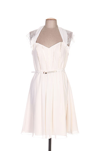 ellebeline robes femme de couleur beige
