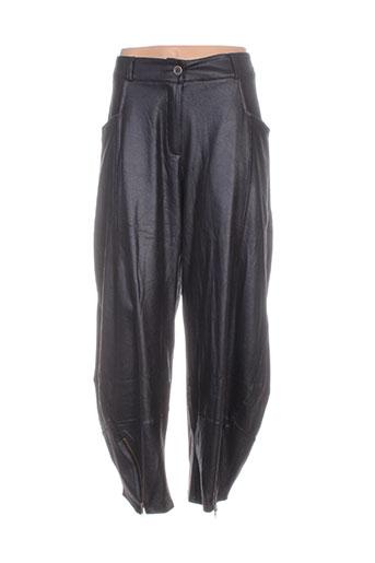 bohéme pantacourts femme de couleur noir