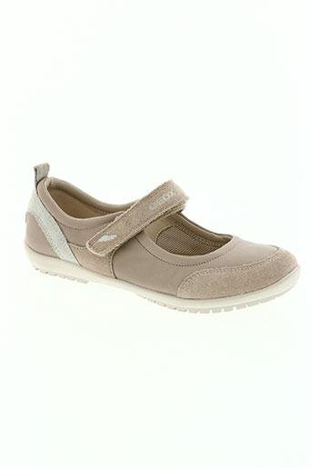 geox chaussures fille de couleur rose