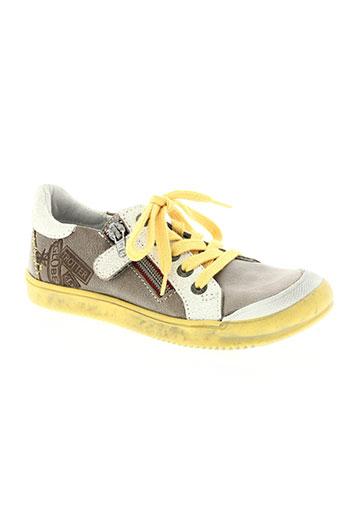 gbb chaussures garçon de couleur beige