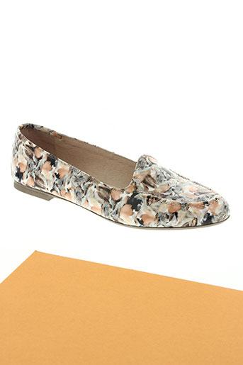 hispanitas chaussures femme de couleur orange