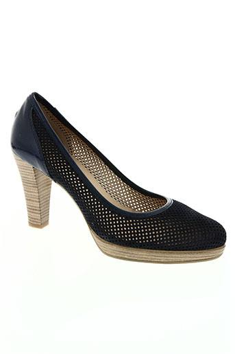 patricia miller chaussures femme de couleur bleu