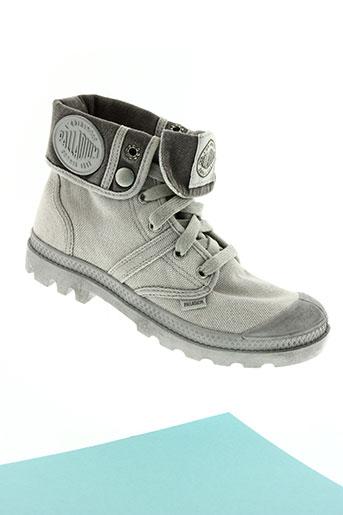 palladium chaussures unisexe de couleur gris