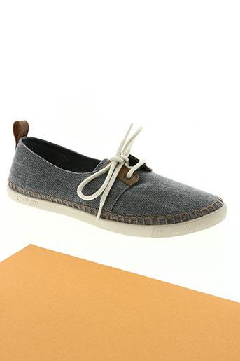 palladium chaussures homme de couleur bleu