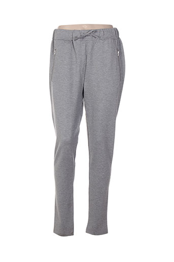lmtd pantalons fille de couleur gris