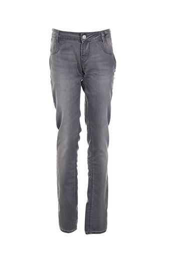 levis jeans fille de couleur gris