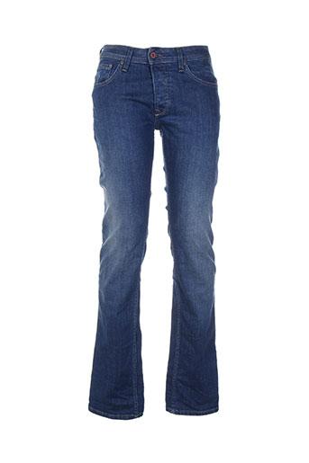 salsa jeans homme de couleur bleu