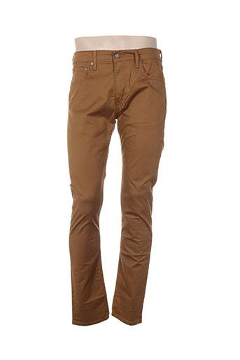 levis jeans homme de couleur marron