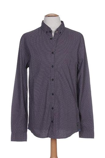 blend chemises homme de couleur violet
