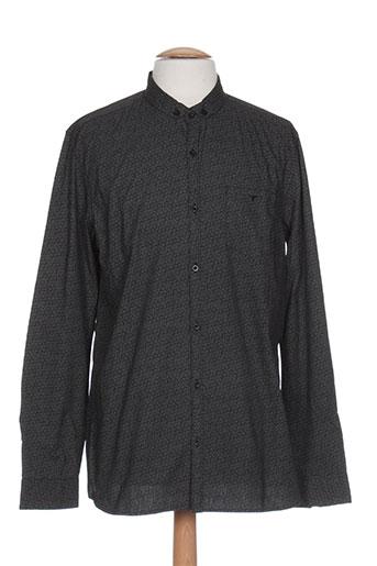 teddy smith chemises homme de couleur gris