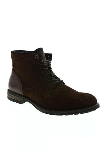 salsa chaussures homme de couleur marron