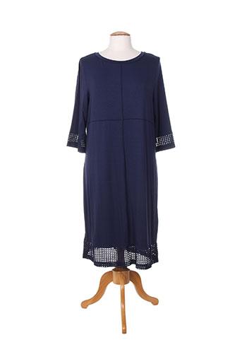 maria bellentani robes femme de couleur bleu