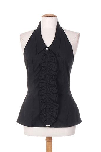 diego reiga chemises femme de couleur noir