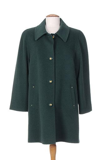 nonet manteaux femme de couleur vert