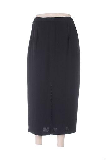brigitte saget jupes femme de couleur noir