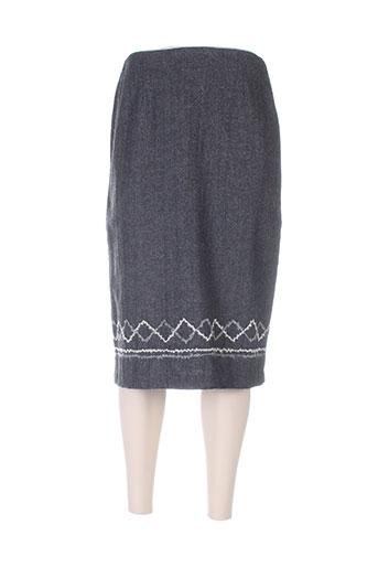 ishwar jupes femme de couleur gris