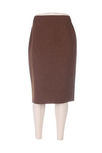charles lorens jupes femme de couleur marron