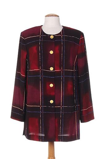 jean biolay chemises femme de couleur rouge