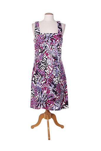 lucchini robes femme de couleur violet