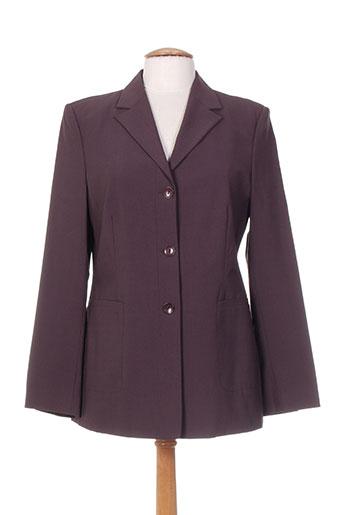 laura lindor vestes femme de couleur violet