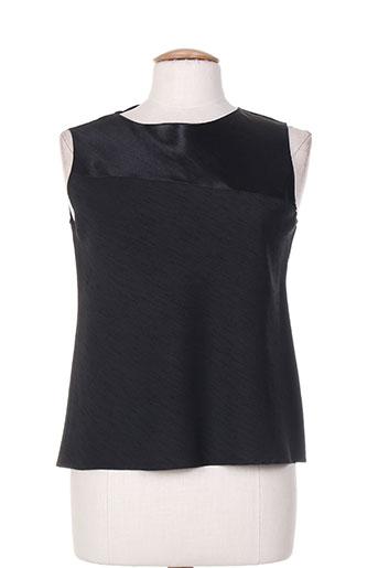 bleu de chine chemises femme de couleur noir