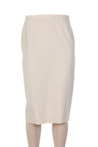 laura lindor jupes femme de couleur beige