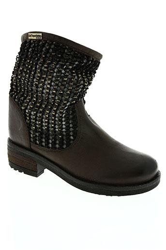 les tropeziennes par m. chaussures femme de couleur marron