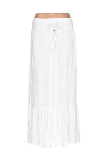 vila jupes femme de couleur blanc
