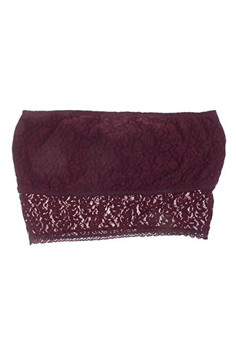 pieces lingerie femme de couleur violet