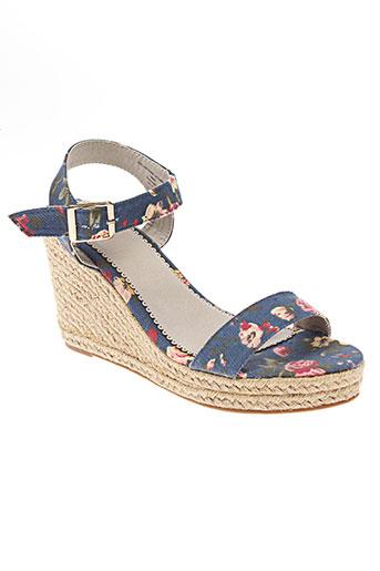pieces chaussures femme de couleur bleu