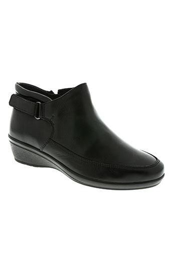 scholl chaussures femme de couleur noir